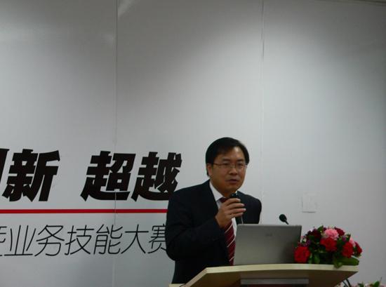 弘成学苑副总经理曾衍南先生为大家阐述了弘成学苑2010年业务规划