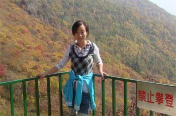 一等奖获得者中国农业大学网院张丽丽同学